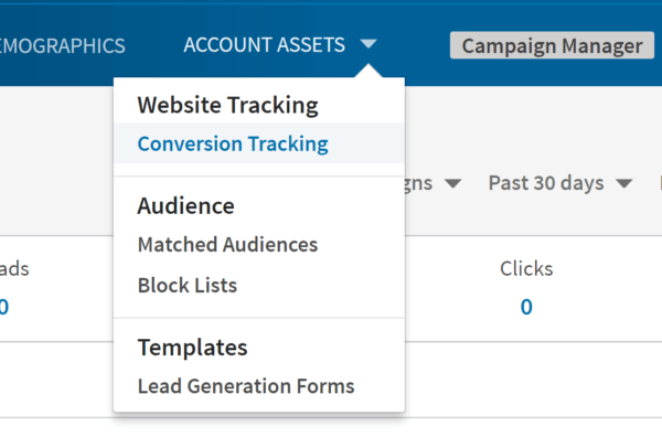 LinkedIn Ads Conversion Tracking