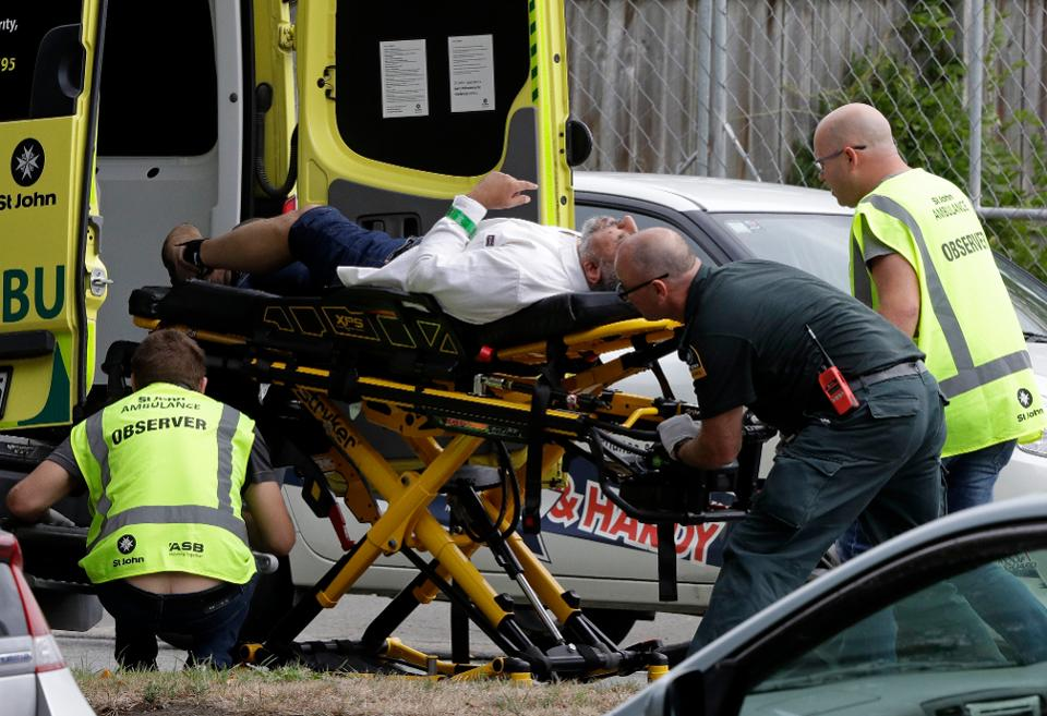 APTOPIX New Zealand Mosque Shooting