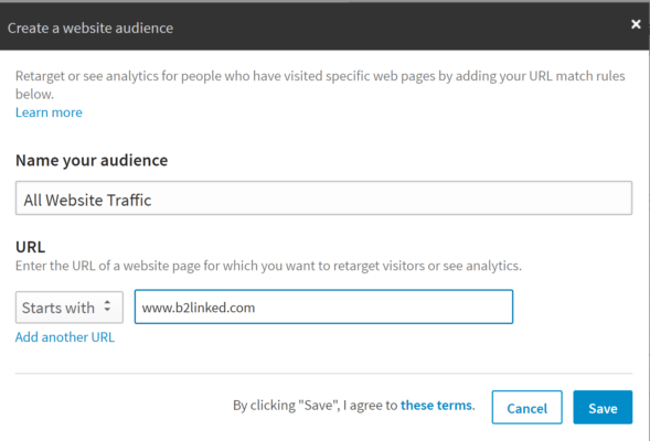 LinkedIn Ads Audience Creation